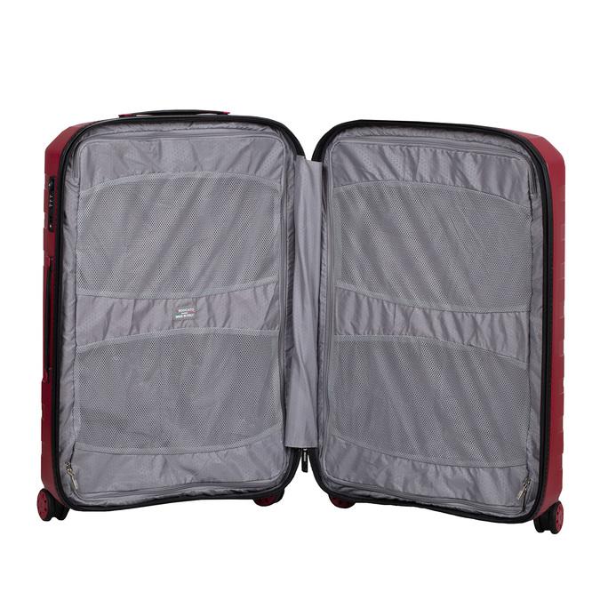 Duża czerwona walizka na kółkach roncato, czerwony, 960-5727 - 17