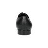 Czarne skórzane półbuty typu angielki bata, czarny, 824-6606 - 15