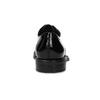 Lakierowane skórzane półbuty damskie vagabond, czarny, 528-6004 - 15