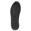 Skórzane trampki męskie zociepliną bata, czarny, 846-6646 - 18