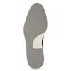 Granatowe skórzane obuwie męskie za kostkę bata, niebieski, 826-9912 - 18