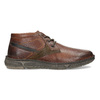 Skórzane obuwie męskie za kostkę bata, brązowy, 846-4718 - 19
