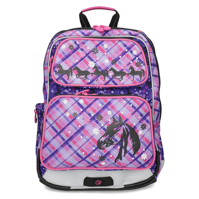 3f97839012e97 ... Tornister szkolny z motywem koni bagmaster, różowy, 969-9726 - 26 ...