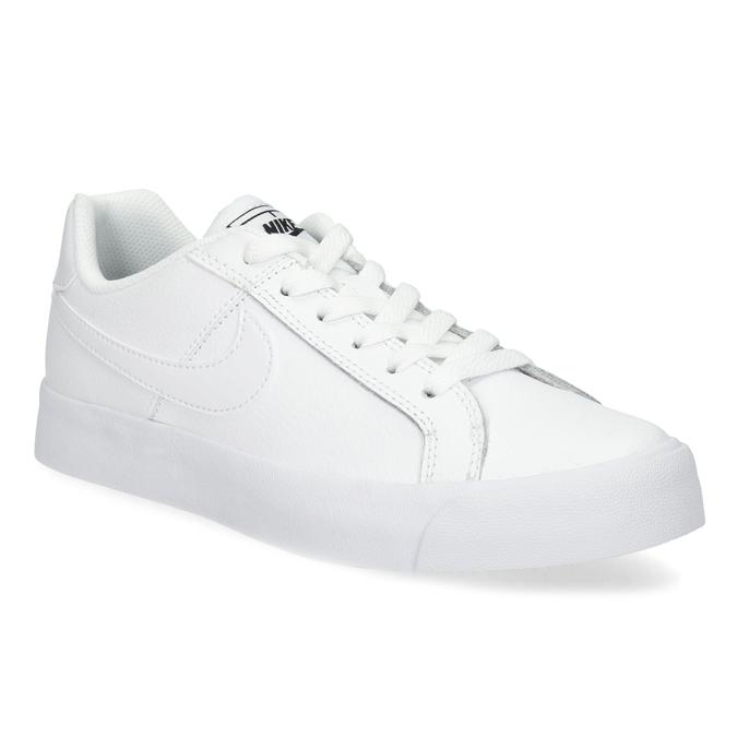 Białe trampki damskie nike, biały, 501-1153 - 13