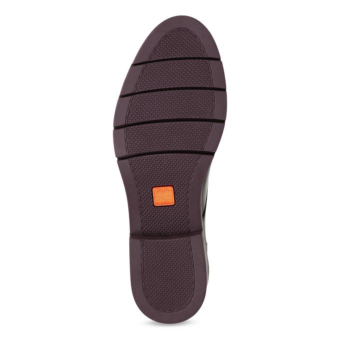 Skórzane botki z frędzlami flexible, czerwony, 596-5696 - 18