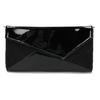 Czarna asymetryczna kopertówka bata, czarny, 961-6912 - 26