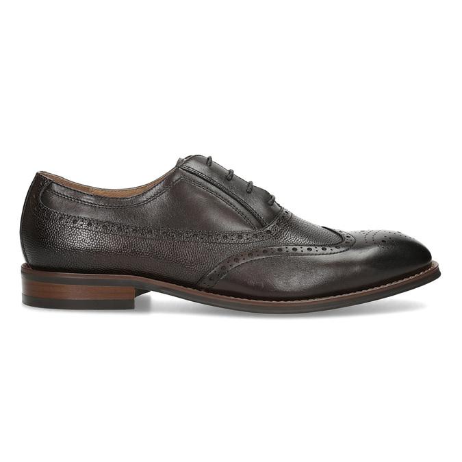 Brązowe skórzane półbuty typu oksfordy bata, brązowy, 826-4785 - 19