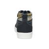 Granatowe trampki dziecięce za kostkę mini-b, niebieski, 411-9610 - 15