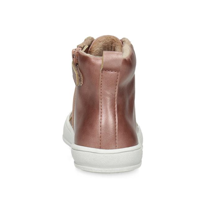 Trampki dziecięce za kostkę, zociepliną mini-b, różowy, 321-5619 - 15
