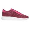 Różowe trampki dziecięce wmelanż adidas, różowy, 409-5188 - 19