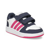Białe trampki dziecięce na rzepy adidas, multi color, 101-1194 - 13