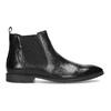 Skórzane obuwie męskie za kostkę typu chelsea bata, czarny, 824-6890 - 19
