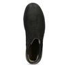 Skórzane botki damskie typu chelsea bata, czarny, 596-6713 - 17