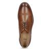 Brązowe skórzane półbuty typu angielki bata, brązowy, 826-3786 - 17