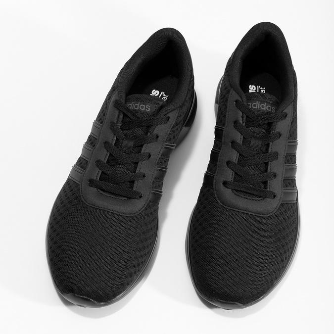 Czarne sportowe trampki męskie adidas, czarny, 809-6198 - 16