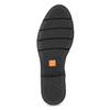 Skórzane damskie sztyblety czarne flexible, czarny, 594-6667 - 18