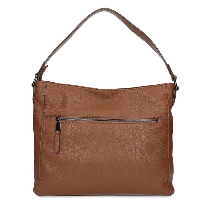 Brązowa torebka damska wstylu hobo bata, brązowy, 961-3922 - 16