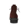 Bordowe skórzane botki gabor, czerwony, 623-5029 - 15