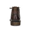 Sznurowane obuwie męskie za kostkę bugatti, brązowy, 826-4056 - 15
