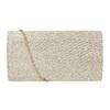 Złota kopertówka damska bata, złoty, 969-8701 - 16