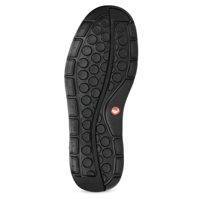 Przewiewne skórzane obuwie męskie clarks, czarny, 826-4089 - 18