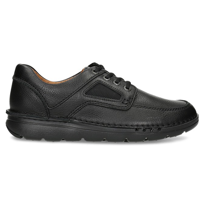 Przewiewne skórzane obuwie męskie clarks, czarny, 826-4089 - 19