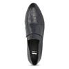 Skórzane mokasyny damskie bata, niebieski, 514-9601 - 17