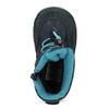 Granatowe zimowe obuwie dziecięce, niebieski, 199-9604 - 17