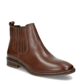 Skórzane obuwie damskie typu chelsea bata, brązowy, 594-4682 - 13
