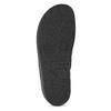 Czarne kapcie męskie bata, czarny, 879-6619 - 18