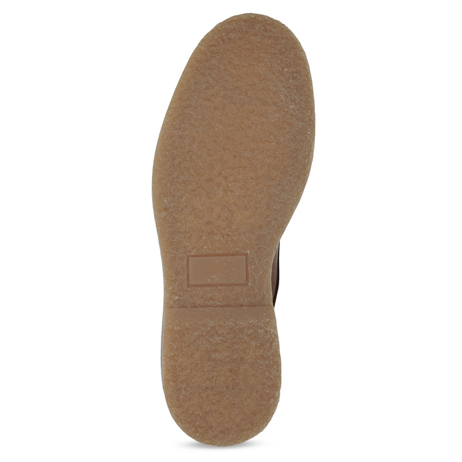 Brązowe skórzane obuwie męskie za kostkę bata, brązowy, 896-3721 - 18