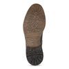 Zimowe skórzane buty męskie za kostkę bata, brązowy, 896-4716 - 18