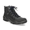 Skórzane obuwie męskie wstylu outdoor weinbrenner, czarny, 896-6706 - 13