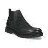 Skórzane zimowe obuwie męskie typu chelsea bata, czarny, 896-6714 - 13