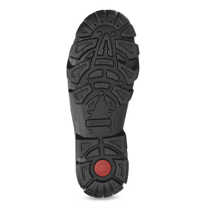 Skórzane obuwie męskie na grubej podeszwie weinbrenner, brązowy, 846-4806 - 18