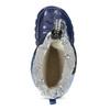 Granatowe śniegowce wdeseń moro mini-b, niebieski, 292-9301 - 17
