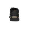Skórzane nieformalne półbuty męskie zprzeszyciami clarks, czarny, 826-6070 - 15