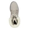Skórzane buty zimowe zfuterkiem weinbrenner, beżowy, 696-3336 - 17