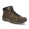 Brązowe skórzane obuwie męskie wstylu outdoor caterpillar, brązowy, 806-4108 - 13