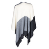 Ponczo damskie zmateriału tekstylnego bata, multi color, 909-0647 - 16