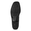 Loafersy damskie zlakierowanej skóry gabor, czarny, 618-6048 - 18