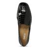 Loafersy damskie zlakierowanej skóry gabor, czarny, 618-6048 - 17