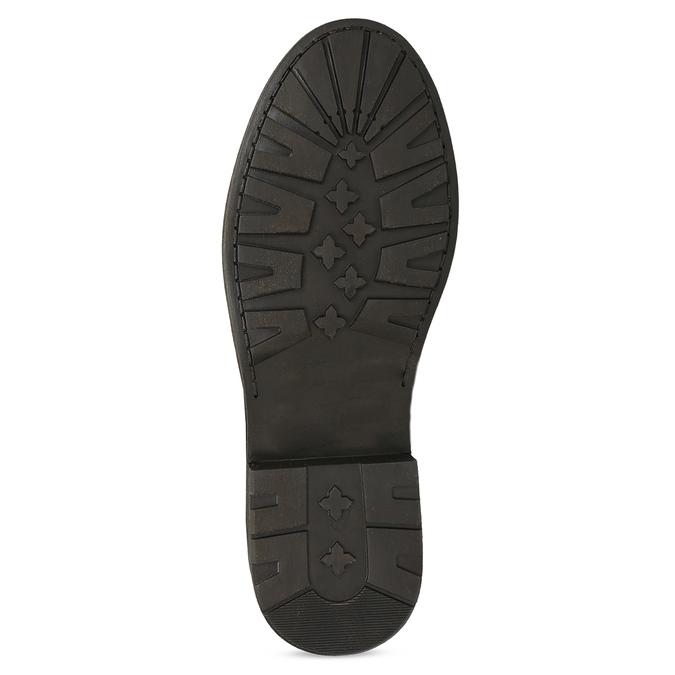 Zimowe skórzane obuwie damskie zfuterkiem bata, brązowy, 596-4701 - 18