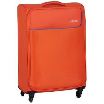 Pomarańczowa walizka zmateriału tekstylnego american-tourister, pomarańczowy, 969-8172 - 13