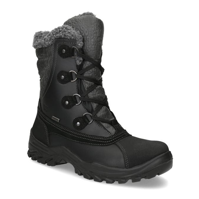 Zimowe śniegowce męskie zociepliną weinbrenner, czarny, 896-6730 - 13