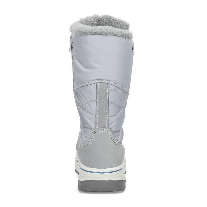Granatowe śniegowce damskie zociepliną weinbrenner, szary, 599-9631 - 15