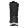 Pikowane zimowe śniegowce damskie bata, czarny, 599-6623 - 15