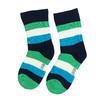 Długie skarpetki dziecięce wpaski bata, zielony, 919-7688 - 26