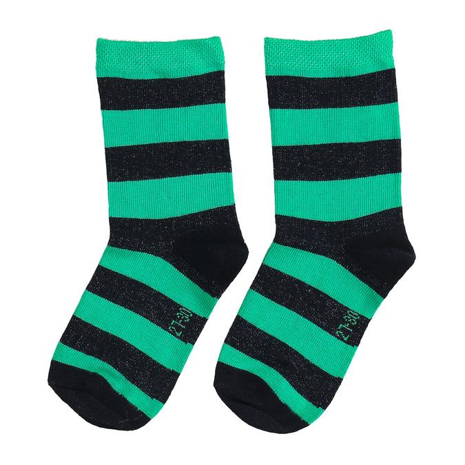 Długie zielone skarpetki dziecięce bata, zielony, 919-7686 - 16