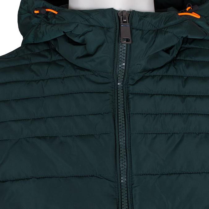 Zielona pikowana kurtka męska bata, zielony, 979-7430 - 16